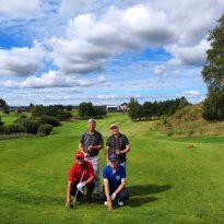 Towarzyski turniej golfowy w Naterkach 1-3 września 2020r.